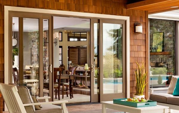 Milgard doors homeland building concepts for In wall sliding glass doors